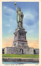 top016723 - Statue of Liberty Post Card