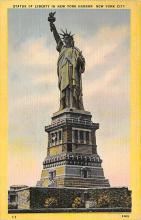 top016725 - Statue of Liberty Post Card