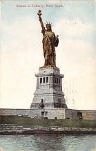top016727 - Statue of Liberty Post Card
