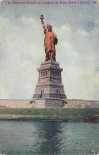 top016729 - Statue of Liberty Post Card