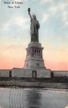 top016731 - Statue of Liberty Post Card