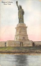 top016741 - Statue of Liberty Post Card