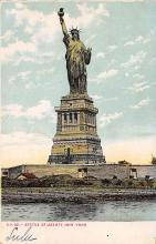 top016747 - Statue of Liberty Post Card