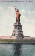 top016755 - Statue of Liberty Post Card