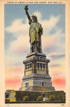 top016765 - Statue of Liberty Post Card