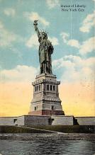 top016779 - Statue of Liberty Post Card