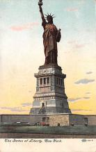 top016785 - Statue of Liberty Post Card