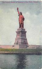 top016795 - Statue of Liberty Post Card