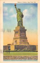 top016801 - Statue of Liberty Post Card