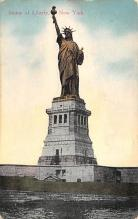 top016829 - Statue of Liberty Post Card