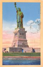 top016963 - Statue of Liberty Post Card