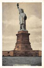 top016967 - Statue of Liberty Post Card