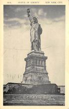 top016969 - Statue of Liberty Post Card