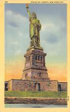 top016997 - Statue of Liberty Post Card