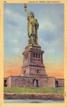 top017001 - Statue of Liberty Post Card