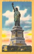 top017007 - Statue of Liberty Post Card