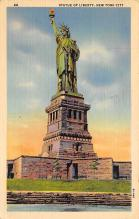 top017009 - Statue of Liberty Post Card