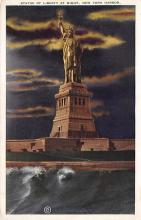 top017011 - Statue of Liberty Post Card