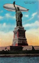 top017025 - Statue of Liberty Post Card