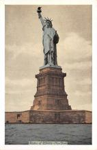 top017027 - Statue of Liberty Post Card