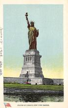 top017033 - Statue of Liberty Post Card