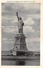 top017047 - Statue of Liberty Post Card