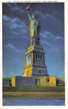 top017049 - Statue of Liberty Post Card
