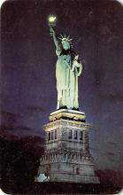 top017069 - Statue of Liberty Post Card