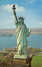 top017081 - Statue of Liberty Post Card