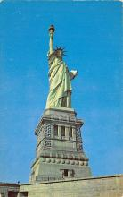 top017095 - Statue of Liberty Post Card