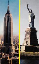 top017109 - Statue of Liberty Post Card