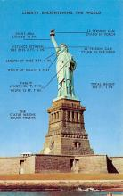 top017113 - Statue of Liberty Post Card