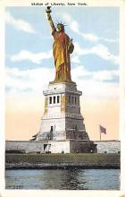 top017115 - Statue of Liberty Post Card