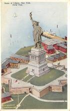 top017123 - Statue of Liberty Post Card