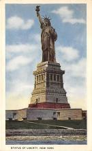 top017125 - Statue of Liberty Post Card