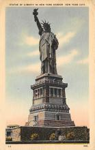 top017129 - Statue of Liberty Post Card