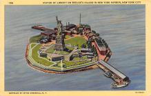 top017149 - Statue of Liberty Post Card