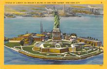 top017153 - Statue of Liberty Post Card