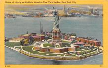 top017155 - Statue of Liberty Post Card