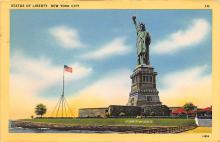 top017159 - Statue of Liberty Post Card