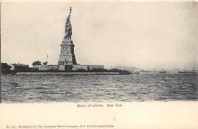 top017165 - Statue of Liberty Post Card