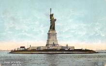 top017167 - Statue of Liberty Post Card