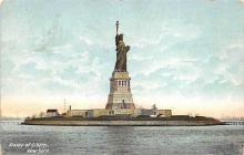 top017169 - Statue of Liberty Post Card