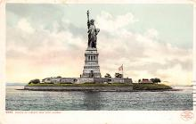 top017173 - Statue of Liberty Post Card