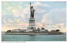 top017177 - Statue of Liberty Post Card