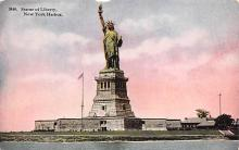 top017187 - Statue of Liberty Post Card