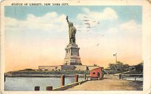 top017189 - Statue of Liberty Post Card