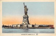 top017191 - Statue of Liberty Post Card