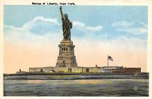 top017193 - Statue of Liberty Post Card