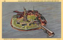 top017197 - Statue of Liberty Post Card